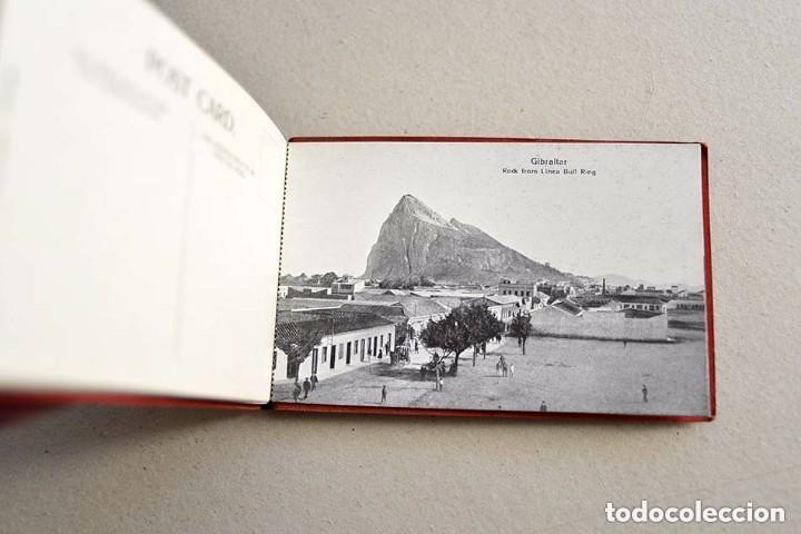 Postales: antiguas 10 postales Souvenir of Gibraltar Vincent B. Cumbo 157 main street - Foto 2 - 128949487
