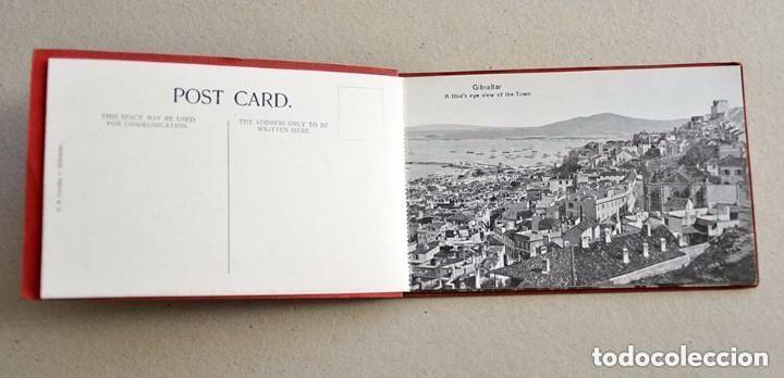 Postales: antiguas 10 postales Souvenir of Gibraltar Vincent B. Cumbo 157 main street - Foto 3 - 128949487