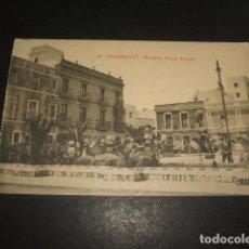 Postais: AYAMONTE HUELVA DETALLES PASEO DE TETUAN. Lote 128952059