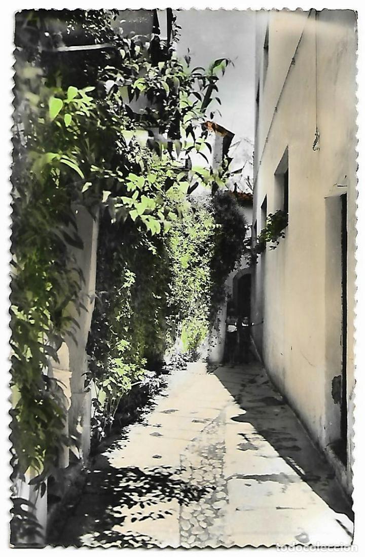 CÓRDOBA. POSTAL COLOREADA. EDICIONES SICILIA. CALLE TÍPICA N 126. (Postales - España - Andalucía Antigua (hasta 1939))