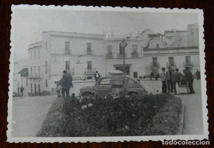 ANTIGUA FOTOGRAFIA DE ALCALA DE LOS GAZULES (CADIZ), MIDE 10,3 X 7,3 CMS., UN POCO MAS PEQUEÑA QUE U (Postales - España - Andalucía Antigua (hasta 1939))