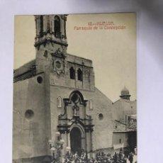 Postales: HUELVA, PARROQUIA DE LA CONCEPCIÓN. Lote 129538431