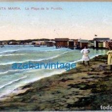Postais: PUERTO DE SANTA MARIA, PLAYA DE LA PUNTILLA, ESCRITA, C.R.S.231. Lote 129996775