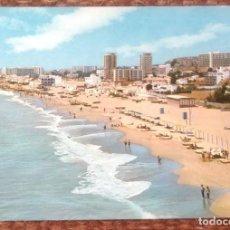 Postales: TORREMOLINOS - PLAYA DEL BAJONDILLO. Lote 130030899