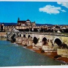 Postales: CÓRDOBA, PUENTE ROMANO.AL FONDO VISTA PARCIAL. Lote 130131723