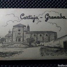 Postales: CARTUJA DE GRANADA .- 15 POSTALES FOTOGRAFICAS .- EDICION GARCIA GARRABELLA Nº 9. Lote 130226098