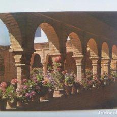 Postales: POSTAL DEL MONASTERIO DE LA RABIDA ( HUELVA ): PATIO MUDEJAR . AÑOS 60. Lote 130234842
