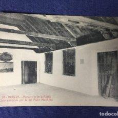 Postales: POSTAL HUELVA 26 MONASTERIO DE LA RÁBIDA SALA PADRE MARCHENA PAPELERÍA INGLESA ESCRITA NO CIRCULADA. Lote 130306366