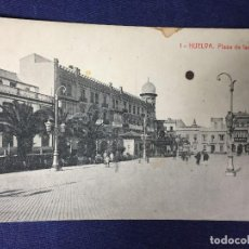 Postales: POSTAL HUELVA 1 PLAZA DE LAS MONJAS FOTOTIPIA THOMAS ESCRITA NO CIRCULADA. Lote 130307562