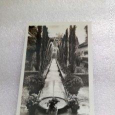Postales: POSTAL DE GRANADA GENERALIFE, SURTIDORES. 78 ROISIN SIN CIRCULAR. Lote 130318978