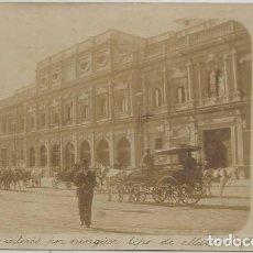 Postales: POSTAL FOTOGRAFICA ANTIGUO AYUNTAMIENTO SEVILLA SIN DIVIDIR ANIMADA 1902. Lote 130382270