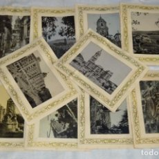 Postales: SERIE COMPLETA DE 10 FOTOGRAFÍAS - MÁLAGA - FOTOTIPIA CLICHE - EXCLUSIVAS ALAMOS - ENVÍO 24H. Lote 130554686