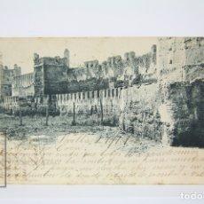 Postales: ANTIGUA POSTAL - SEVILLA / MURALLAS ROMANAS - EDIT. HAUSER Y MENET - AÑO 1902. Lote 130905859