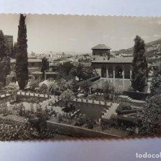 Postales: GRANADA ALHAMBRA JARDINES DEL PARTAL ED GARCIA GARRABELLA Nº 5. Lote 131390450