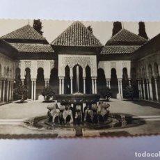 Postales: GRANADA ALHAMBRA PATIO DE LOS LEONES ED GARCIA GARRABELLA Nº 39. Lote 131390462