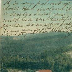 Postales: HUELVA. VILLA ONUBA. FUENTE HERIDOS CIRCULADA EN 1923. Lote 131533686