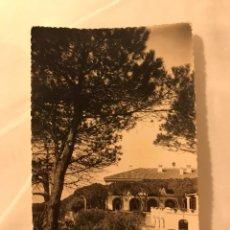 Postales: MALAGA. POSTAL HOTEL ALHAMAR VISTA PARCIAL. EDITA: FOTO DIEGO CORTES (H.1960?(. Lote 131593337