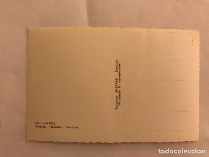 Postales: LINARES (Jaén) Postal No. 105 Hospital... edita: ediciones Arribas (h.1950? - Foto 2 - 131866821