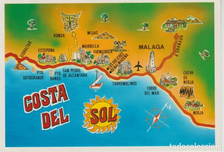 Mapa De Andalucia Costa Del Sol.66 Costa Del Sol Mapa