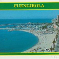 Postales: (208) FUENGIROLA. PASEO, PLAYA Y PUERTO. Lote 132108430