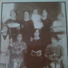 Postales: POSTAL ANTIGUA LEPE HUELVA AÑO 1921 ESCUELA DE CARMENCITA DIAZ. Lote 132149229