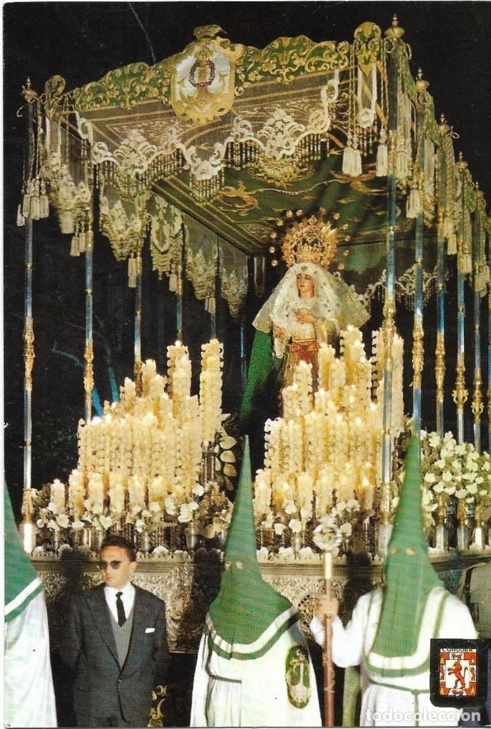 == Z1614 - POSTAL - CORDOBA - SEMANA SANTA - PASO DE LA VIRGEN DE LA ESPERANZA (Postales - España - Andalucia Moderna (desde 1.940))