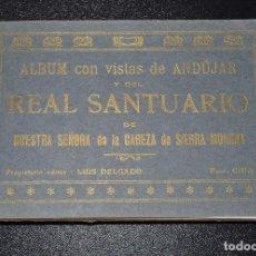 Postales: ALBUM VISTAS DE ANDÚJAR Y DEL SANTUARIO DE NUESTRA SEÑORA DE LA CABEZA SIERRA MORENA. 25 POSTALES .. Lote 132607746