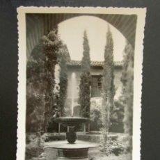 Postales: POSTAL GRANADA. ALHAMBRA. JARDÍN DE LINDARAJA. . Lote 132712454