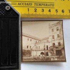 Postales: FOTOGRAFIA ORIGINAL ARCHIVO CADIZ ENRIQUE MOVELLAN PRUEBA PARA TARJETA POSTAL - EDIFICIO. Lote 132922990