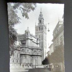 Postales: POSTAL SEVILLA. LA GIRALDA. CIRCULADA. AÑO 1951.. Lote 133022466