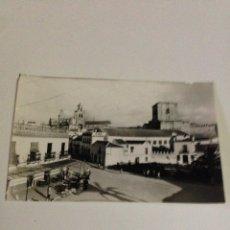 Postales: POSTAL ANTIGUA,19-UTRERA,PLAZA DE SANTA ANA,Y VISTA PARCIAL.. Lote 133407005