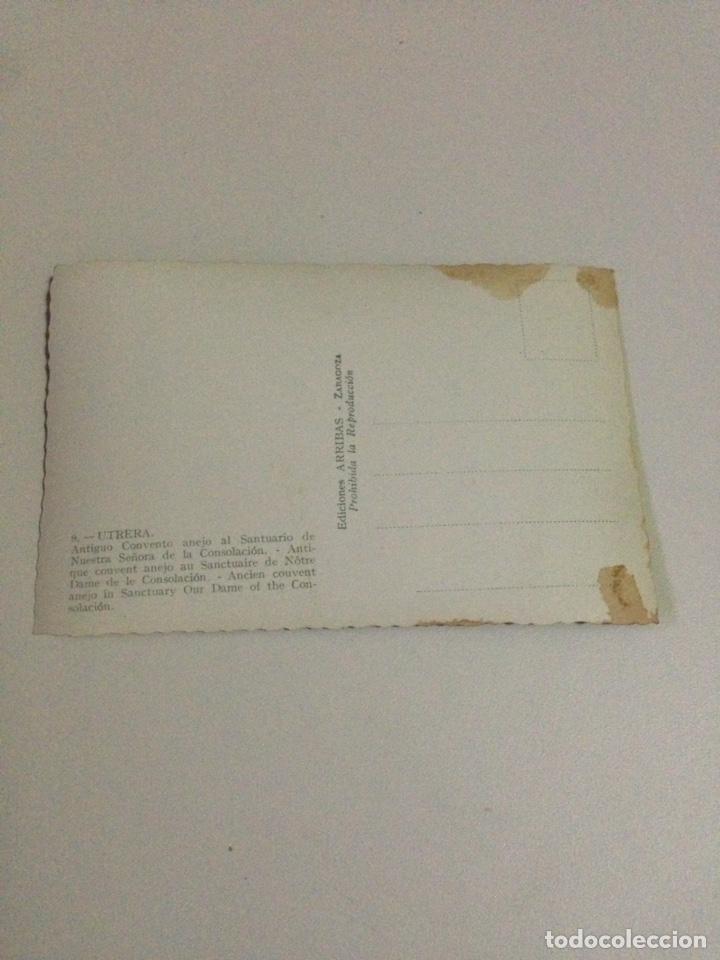 Postales: Postal antigua,9-utrera,antiguo convento anejo al santuario de nuestra señora de la consolacion. - Foto 3 - 133409191