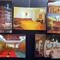 Postales: SEVILLA, HOTEL VIRGEN DE LOS REYES, 5 POSTALES SIN CIRCULAR DEL AÑO 1978. Lote 133413570