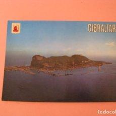 Postales: POSTAL DE GIBRALTAR. VISTA GENERAL AÉREA Y PEÑÓN. ED. SUBIRATS CASANOVAS.. Lote 133582426