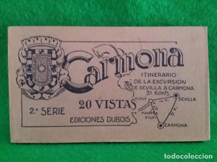 20 TARJETAS POSTALES DE CARMONA ITINERARIO DE LA EXCURSION DE SEVILLA A CARMONA 2 SERIE DUBOIS (Postales - España - Andalucía Antigua (hasta 1939))