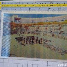 Postales: POSTAL ESTEREOSCÓPICA DE SEVILLA. AYER Y HOY. ITÁLICA ANFITEATRO. 2103. Lote 222747850