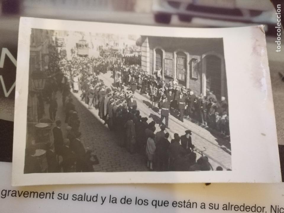 ANTIGUA TARJETA POSTAL CADIZ DESFILE MILITAR DIPUTACION FONDO EL TRANVIA - UNION UNIVERSAL CORREOS (Postales - España - Andalucía Antigua (hasta 1939))