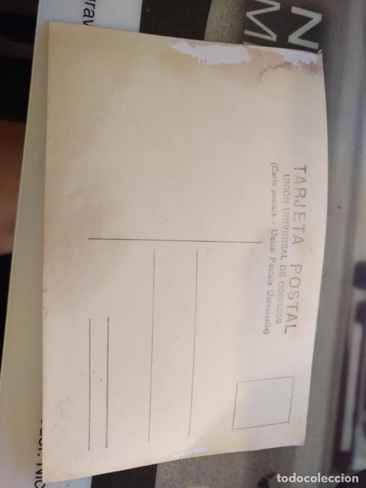 Postales: antigua tarjeta postal cadiz desfile militar diputacion fondo el tranvia - union universal correos - Foto 2 - 134045494