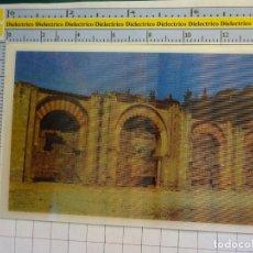 Postales: POSTAL ESTEREOSCÓPICA DE CÓRDOBA. AYER Y HOY. MEDINA AZAHARA ARQUERÍA PORTICADA. 2316. Lote 134128046