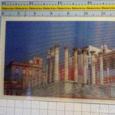 Postales: POSTAL ESTEREOSCÓPICA DE CÓRDOBA. AYER Y HOY. TEMPLO GRECO ROMANO. 2318. Lote 134128162