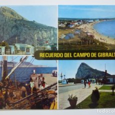 Postales: POSTAL. 4. CAMPO DE GIBRALTAR. DIVERSOS ASPECTOS Y PEÑÓN. ED. SUBIRATS CASANOVAS. NO ESCRITA.. Lote 134195558