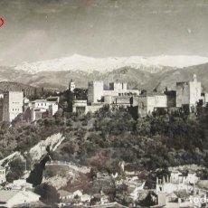 Postales: POSTAL GRANADA - ALHAMBRA Y SIERRA NEVADA (45) - ANDALUCIA - ESPAÑA - SIN CIRCULAR. Lote 134197902