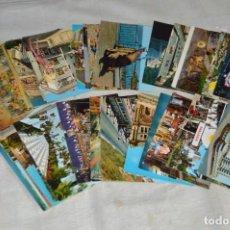 Postales: LOTE DE MÁS DE 40 PRECIOSAS POSTALES SIN CIRCULAR - DE MÁLAGA Y PROVINCIA - ENVÍO24H. Lote 134755078