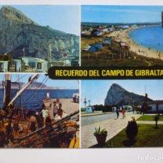 Postales: POSTAL. 4. CAMPO DE GIBRALTAR. DIVERSOS ASPECTOS Y PEÑÓN. ED. SUBIRATS CASANOVAS. CIRCULADA EN 1982.. Lote 134828626