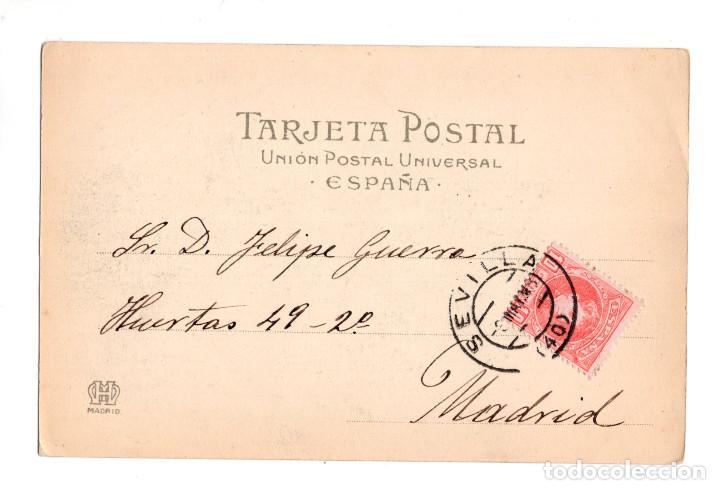 Postales: DIOS LOS CRIA Y ELLOS SE JUNTAN. LA FERIA DE SEVILLA. SERIE B 3 REYMUNDO Y COMPAÑIA CADIZ. - Foto 2 - 134839378