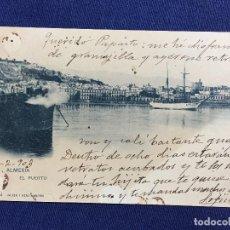 Postales: POSTAL ALMERIA EL PUERTO 1903 594 HAUSER Y MENET. Lote 134949126