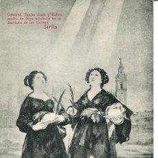 Postkarten - SEVILLA--CATEDRAL-SANTAS JUSTA Y RUFINA--CHAPARTEGUY - 135113922