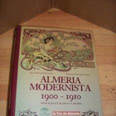 Postales: ALMERIA MODERNISTA-1900-1910-ALBUM CON 34 POSTALES. Lote 135144622