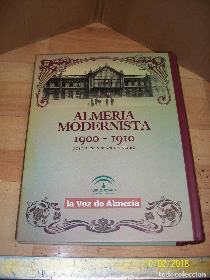 Postales: ALMERIA MODERNISTA-1900-1910-ALBUM CON 34 POSTALES - Foto 2 - 135144622