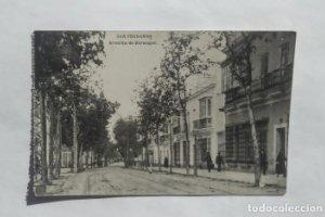 CADIZ LOTE DE 3 POSTALES ANTIGUAS Avenida de Berenguer, Iglesia mayor, vista parcial